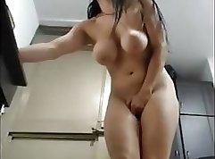 Amazing slow webcam orgasm