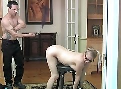 Bondage strap on hood bitch punishmently fuck