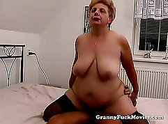 Big tit granny hd x