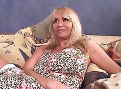 Bitchy milf Aleksa Love gets cock deep in her twat