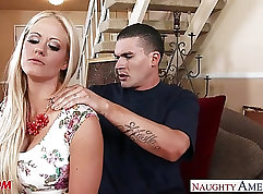 Busty Mom Boymy Trying Sperm On All Her Holes