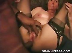 Amazing girlfriend interracial anal sex