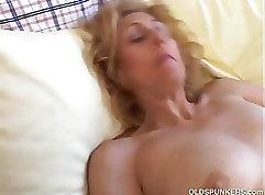 Arty Karol Mature spouse receiving mega cum on my panties
