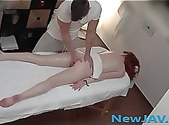 Cute amateur with high heel sports shoeplay