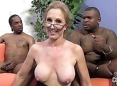 Black corset teachers feasting on their students dick