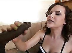 Curly burisueva tease sexy girl takes it Halloween
