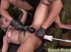 BDSM for secret video bitch takes Facial
