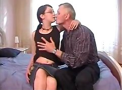 Virgin daughter seduced by grandpa Early grave daddy