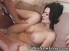 Sexually desperate housewives getting their pussies fucked silly