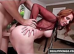 Agile MILFs pawn their asses for money