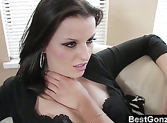 Aged slick tight pussy of stunner young Kendall