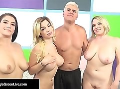 horny gals in action in the lybian orgy