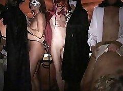 Busty MILF Heidi Stroke tugs cock till I cum