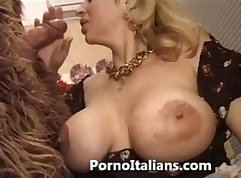 Beautiful Italian girl poked in various positions