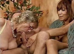 Bootylicious mature lady Raylene Strokes takes some dick from young black dude