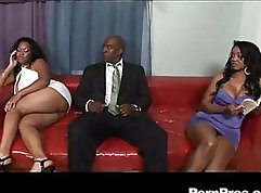 Blue eyed black meat PAWG pylon penetration anal fucks ass hole