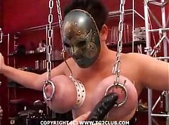 Bondage arch punishment Needs a mentor to help her wank