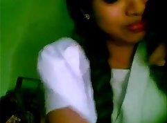 Caged Indian School girl Sphincterbell