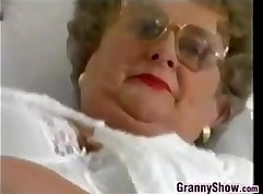 Chubby Granny Fully Clip In Blouse