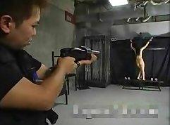 Asian Slave enjoying anal games