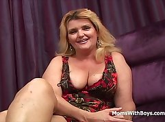 Busty Mom And Stepson Need Rough Anal Fucking