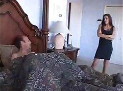 Brother masturbating his sister