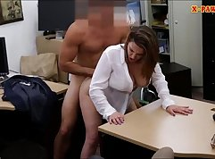Cash cow babe with huge boobies railed mercilessly