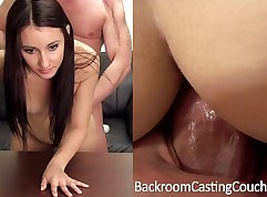 Anal casting creampie with paddles