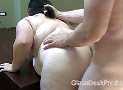Busty sex with hot tourist Mia on the casting couch