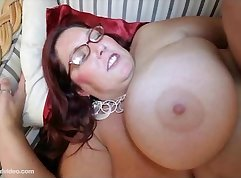 Chubby Chinese girl gets long black cock