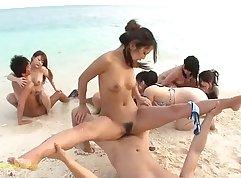 Chinese Bitch Banged at Marina Komala Beach