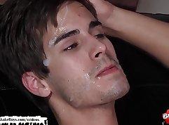 Bukkake Facial Cumshot Compilation MUST SEE!