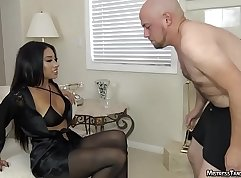Foot femdom Fraternity Touching