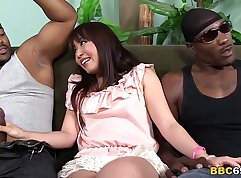 Black cock kinky that just loves double Anal