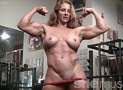 Beautiful Redhead Getting Naked