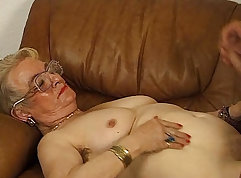 Awesome hungry tits blowjob and ass fingering