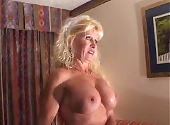 Big Titty Blonde Shows Her Mature