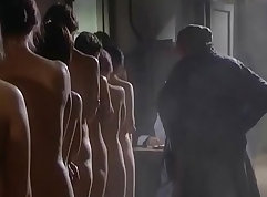 Group Of Girls Caught Fucking In The Shower