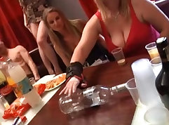 Sex party with student Anita and her big koreella
