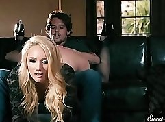 Blonde bimbo Tatiana - Oral and Sex for Amateur