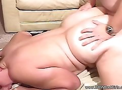 BBW wakes up for a good fucking